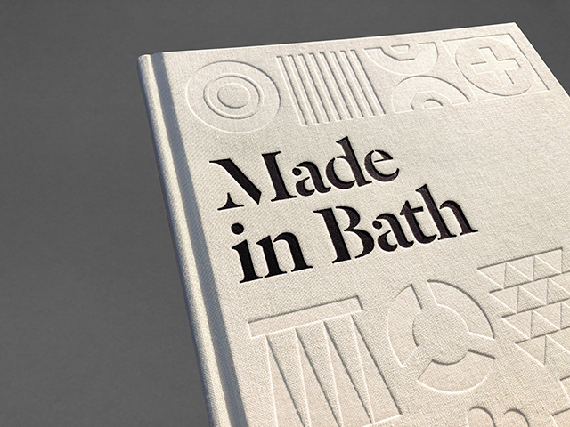 Made in Bath case Bound Book